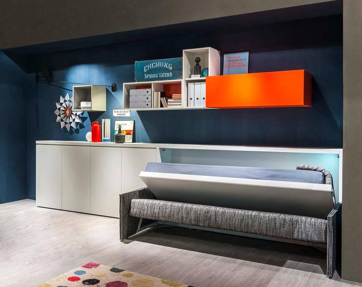 Kali Sofa:  Living room by Resource Furniture