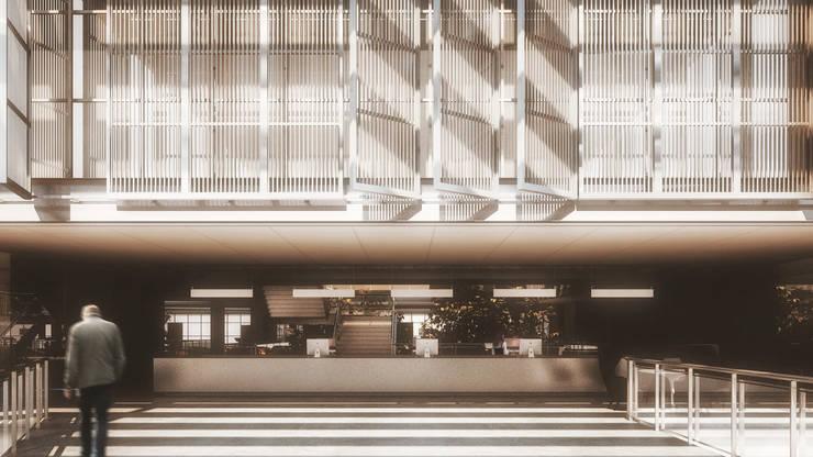 ANEXO CÂMARA MUNICIPAL DE PORTO ALEGRE: Edifícios comerciais  por AF Arquitetura,