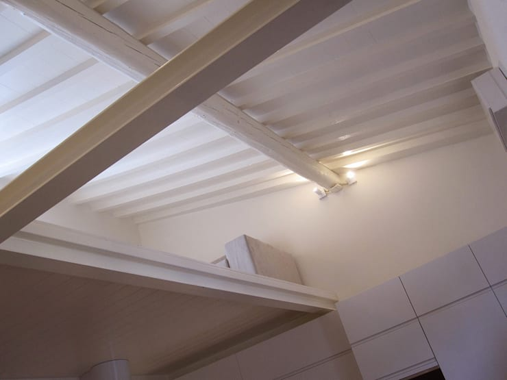 casa Cerofolini: Soggiorno in stile  di architetto alessandro condorelli