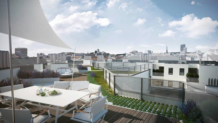 Patios & Decks by Hofmann Architekten ZT GmbH
