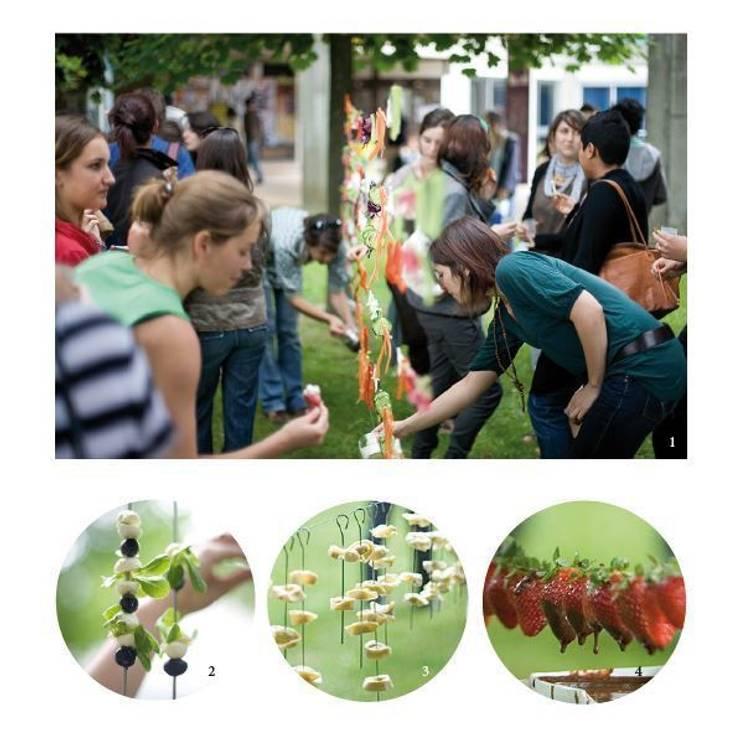 Vert'Nissage: Jardin de style  par Collectif Les Metadesigners