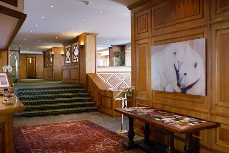 Hotels        In-situ -Animal paintings: Hôtels de style  par Thierry Bisch - Peintre animalier  - Animal Painter