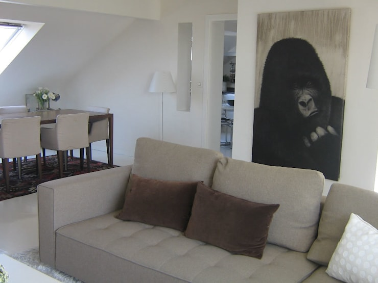 Living room by Thierry Bisch - Peintre animalier  - Animal Painter,