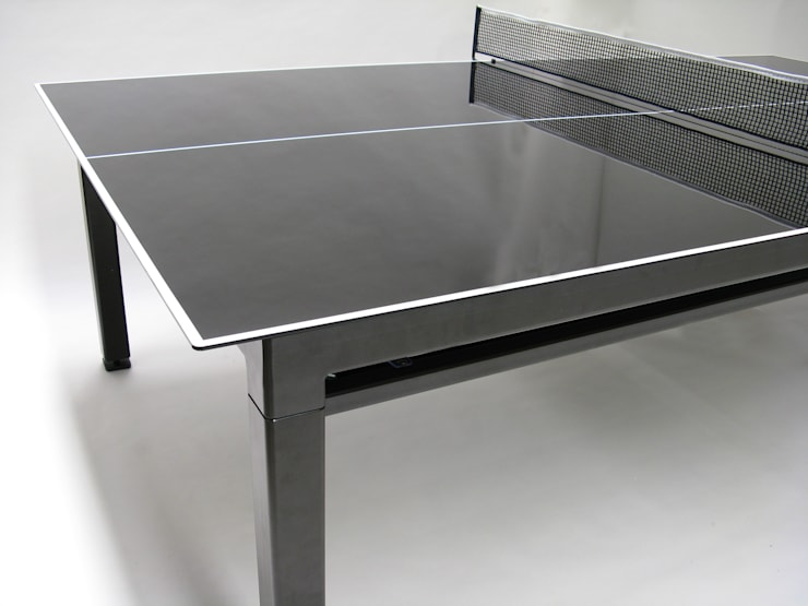 G4 Ping-Pong Table:  Multimedia room by Quantum Play