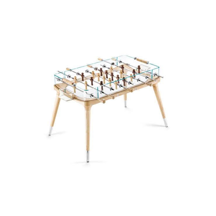 90° Minuto Foosball Table:  Multimedia room by Quantum Play