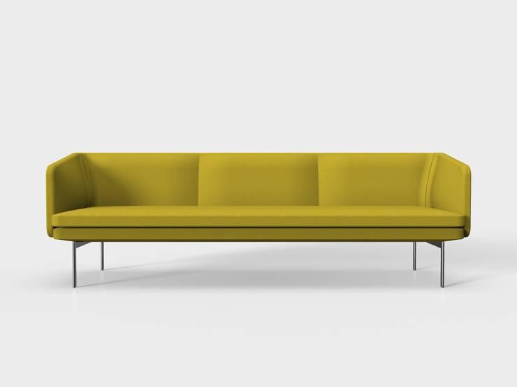 Palau sofa Gabo: moderne Woonkamer door Palau