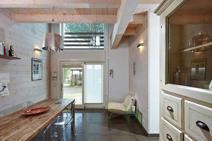 casa b+m: Case in stile  di Filippo Martini Architetto