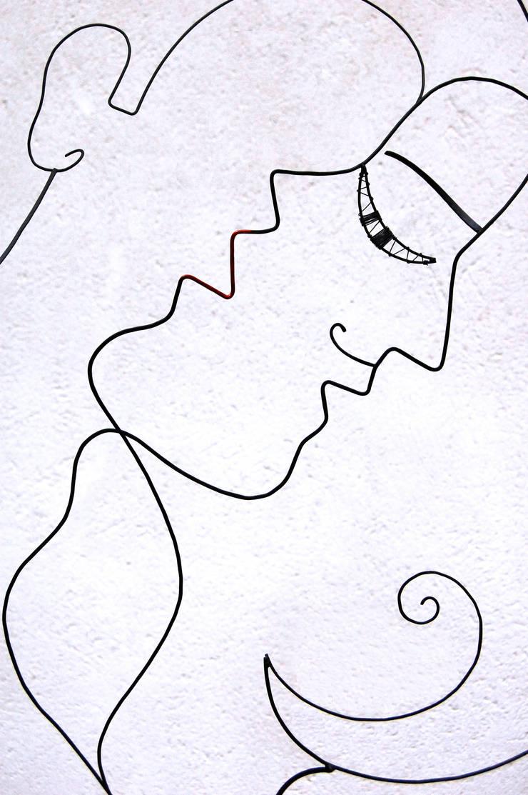 Qui de nous deux ?: Art de style  par , LoR  Sculpteur Fildefériste