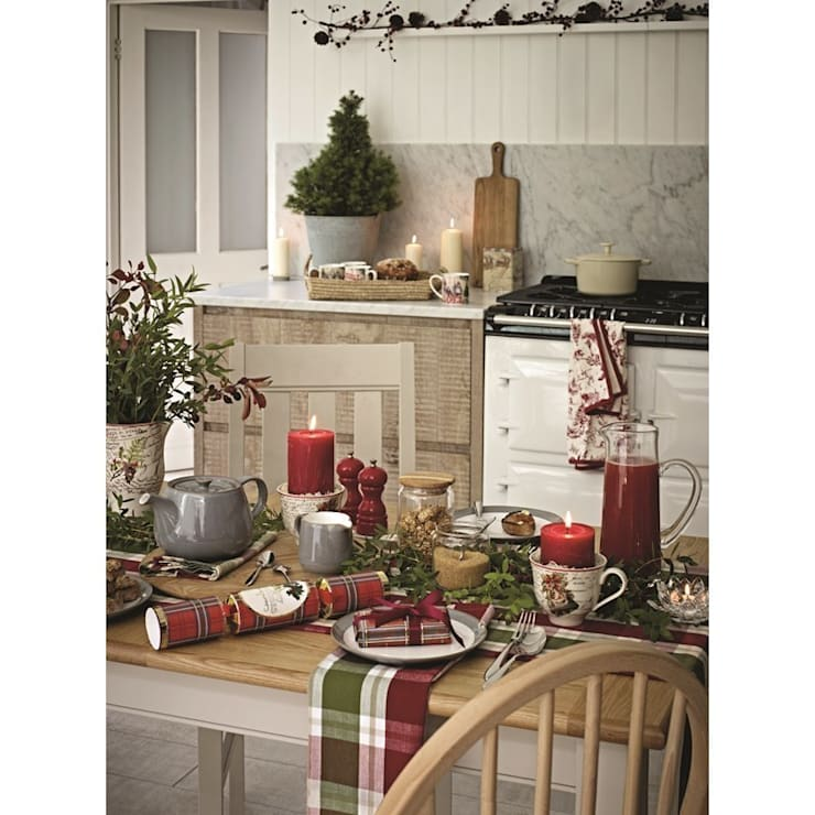 Christmas Lifestyle:  Kitchen by M&S