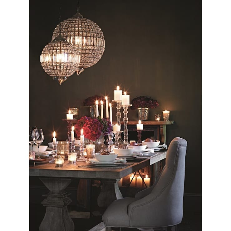 Christmas Lifestyle:  Dining room by M&S