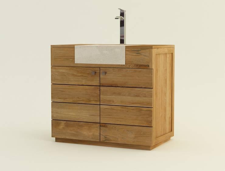 Meubles de salle de bains: Salle de bain de style  par kayumanifrance