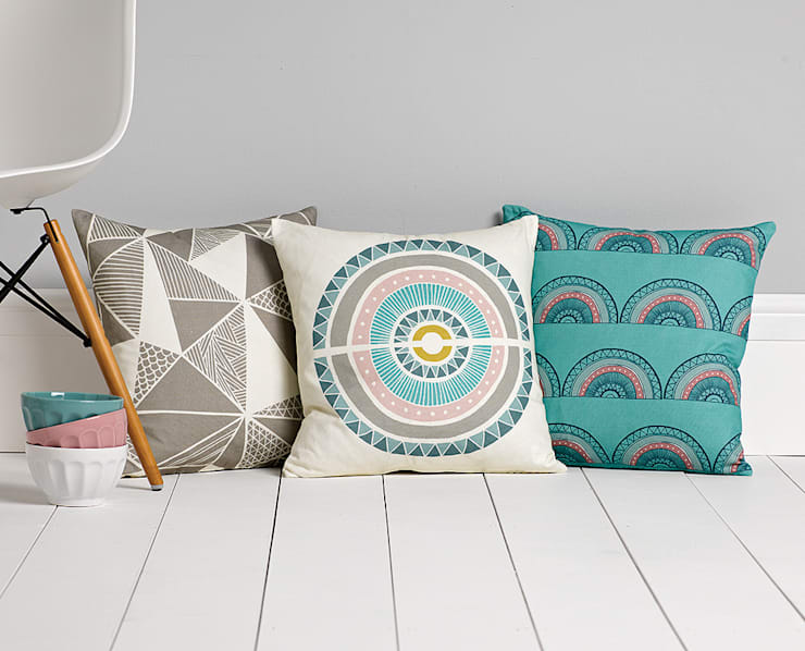 Cushions:  Living room by Sian Elin