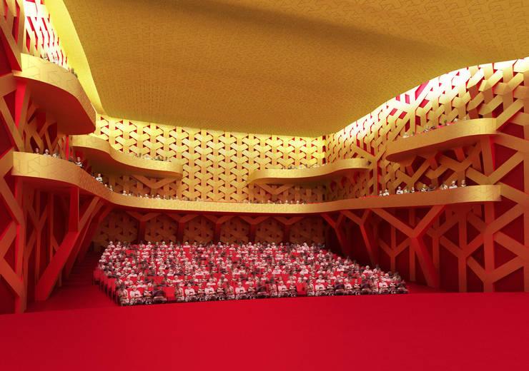 Maison des Arts et de la Culture : Art de style  par KLNB Architectes