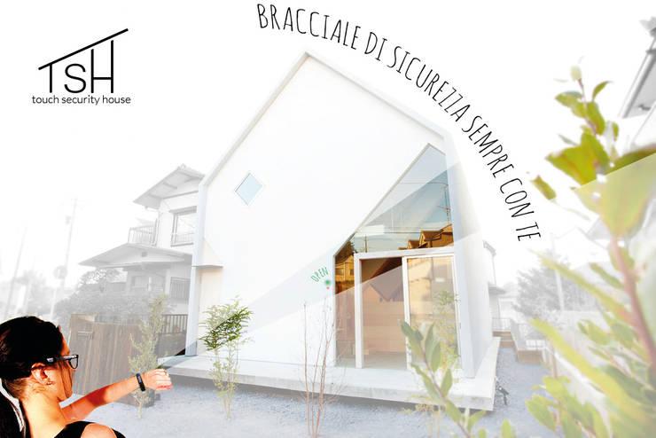 Came Design Award - Touch Security House, una casa a portata di mano:  in stile  di Ariedi&Moretto,