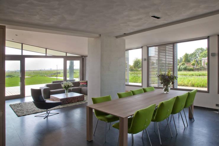 Groeneweg Van der Meijden Architecten:  tarz Yemek Odası