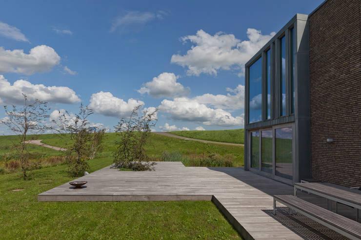 Woonhuis Joosse: moderne Huizen door Groeneweg Van der Meijden Architecten