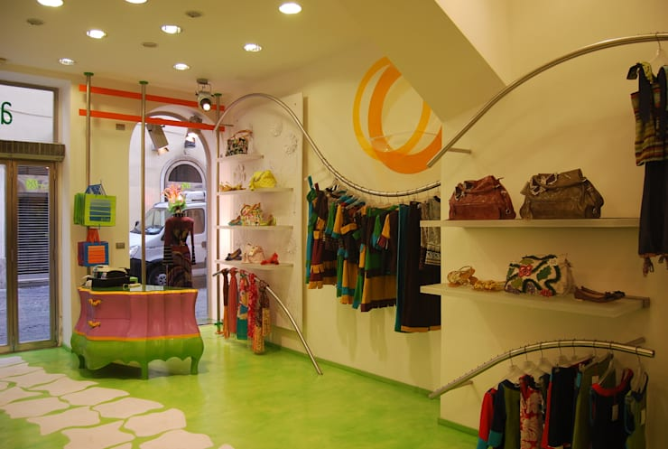 Abitart Roma: Negozi & Locali Commerciali in stile  di studio ff architettura,