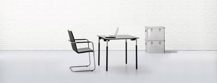 logochair  2.0 swing:  Arbeitszimmer von Hiller Objektmöbel GmbH