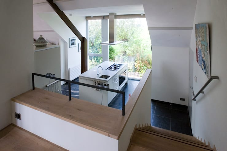Woonhuis Van As:  Keuken door Groeneweg Van der Meijden Architecten