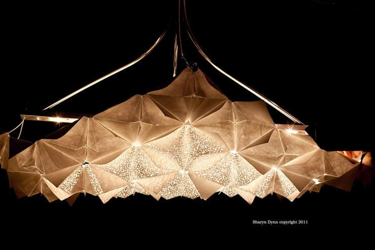 Chandelier:  Living room by Sharyn Dunn