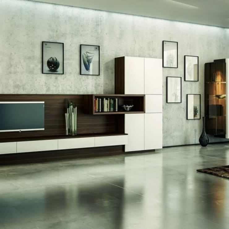 Livings de estilo moderno por Werkstätte Berndt GmbH