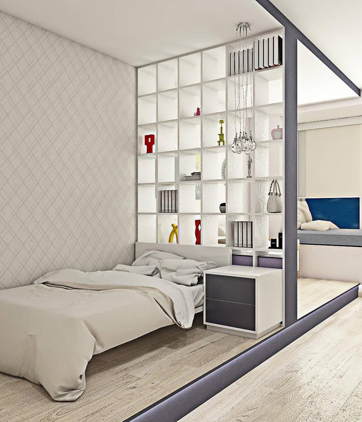 Оттенки фиолетового: Детские комнаты в . Автор –  Pure Design