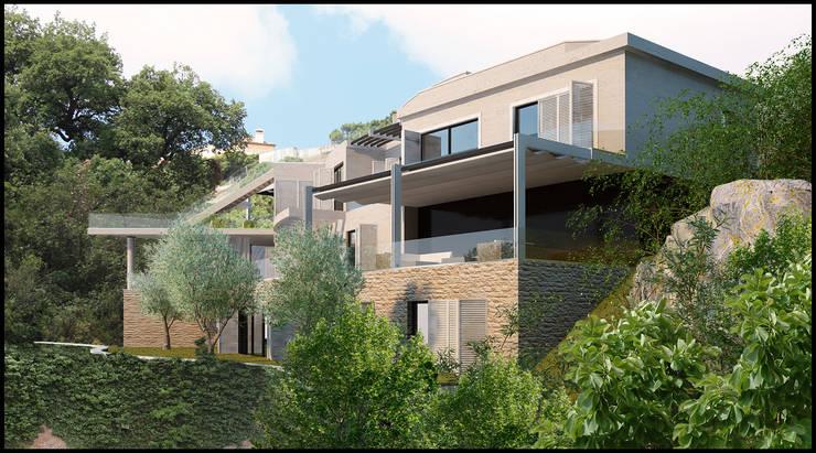 villas:  de estilo  de jocnarq marbella arquitectura y urbanismo