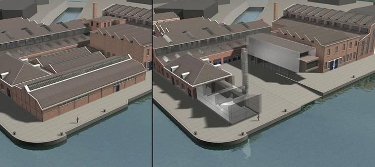 Voor en na de renovatie...:   door Erik Knippers Architect