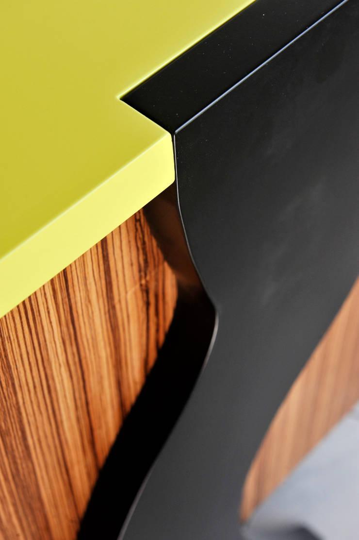 Bureau modulable: Bureau de style  par Bois et Design