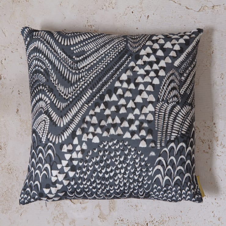 linen starling cushion:  Household by Fate London