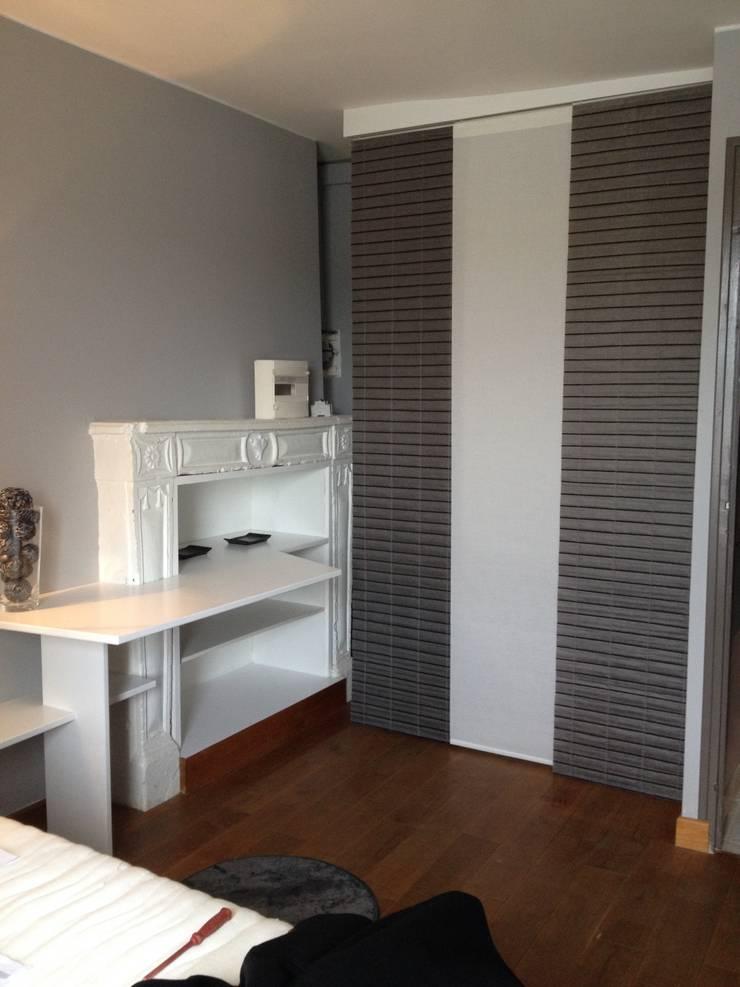 Appartement Hôtel: Salle à manger de style  par Mathilde Muscat