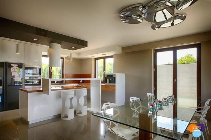 Cuisine de style de style Moderne par Studio Projektowe Projektive