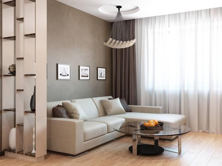 Modern Living Room by Студия дизайна 'New Art' Modern