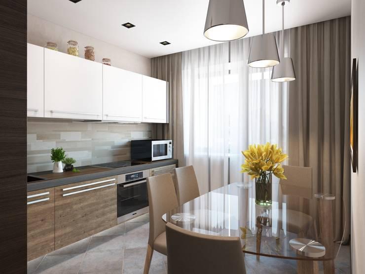 Modern Kitchen by Студия дизайна 'New Art' Modern