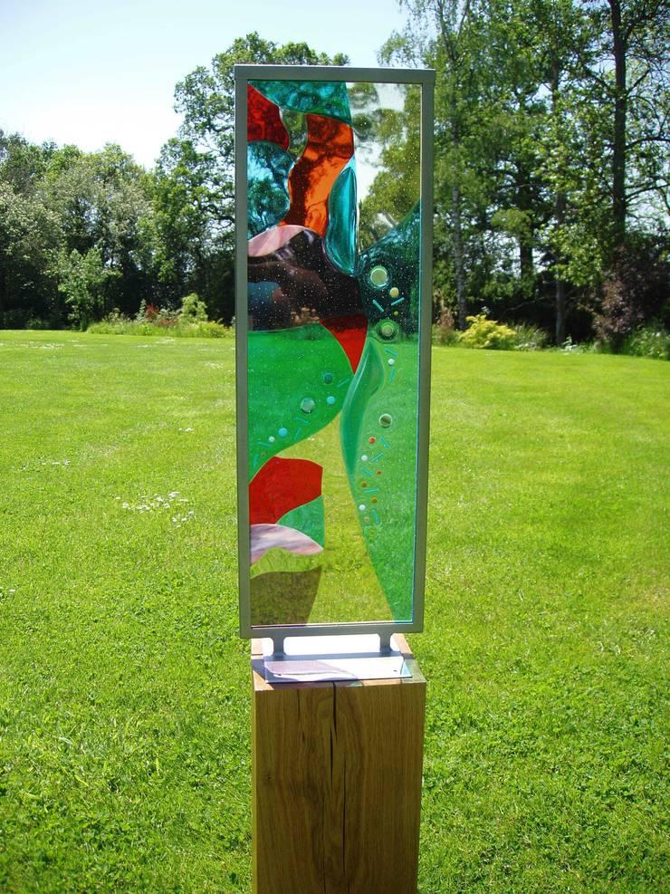 Summer Breeze:  Artwork by Glass designs UK