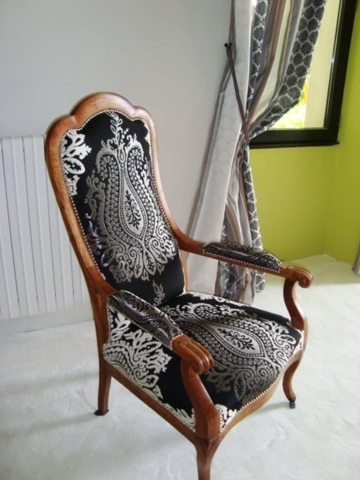 agencement d'une chambre : Chambre de style  par Micheldeco