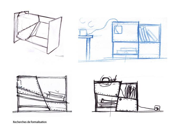 Propositions de projet suite à votre contact: Chambre de style  par Colin Martinez