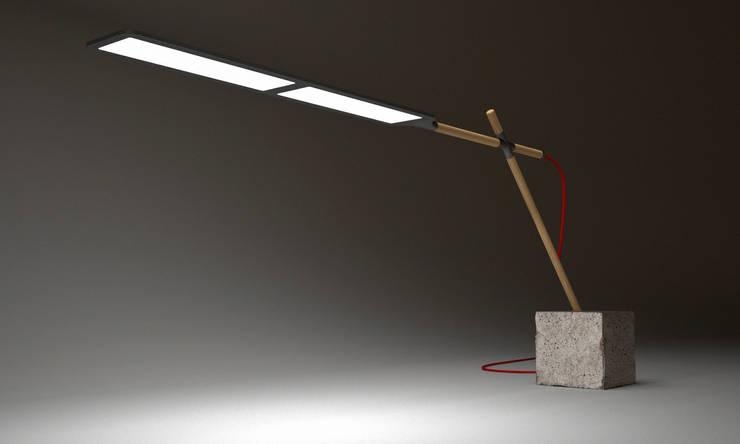 Meloa OLED table lamp:  de style  par Geoffroy Destruel