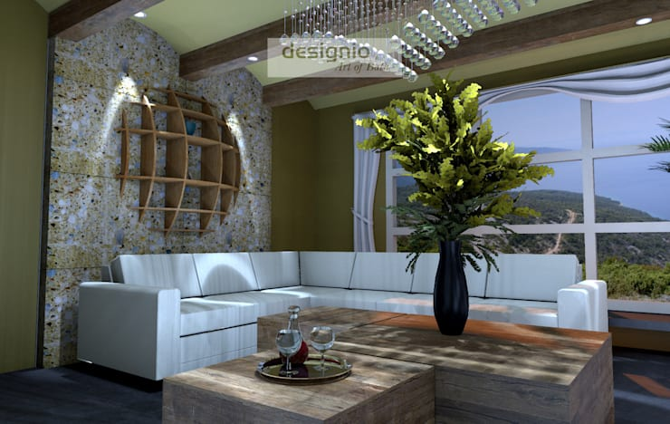 Living room by Art of Bath, Country