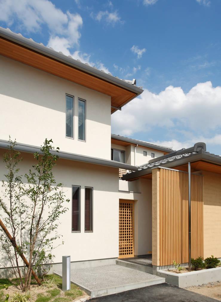 三つの庭のある家: ATELIER TAMAが手掛けた家です。