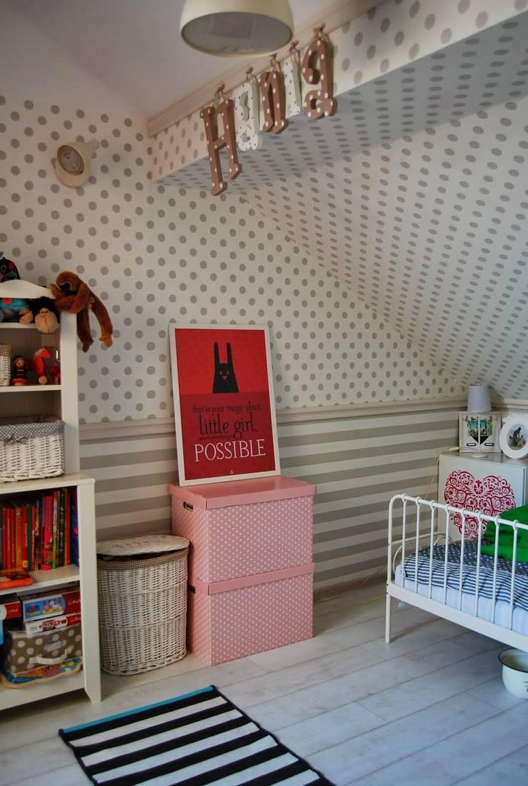 wnętrza: styl , w kategorii Pokój dziecięcy zaprojektowany przez PIANZU