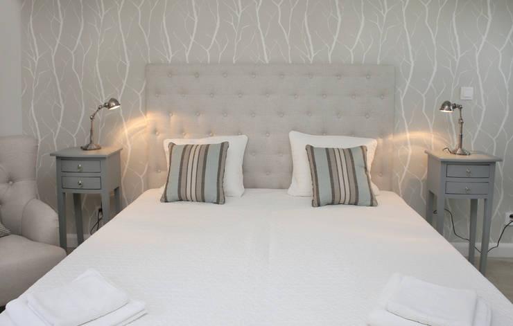 wnetrza: styl , w kategorii Sypialnia zaprojektowany przez Mocca Studio ,Skandynawski