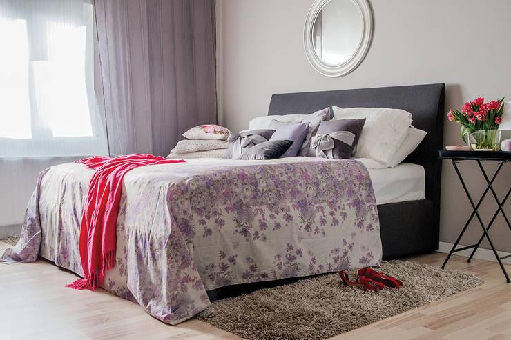 wnetrza: styl , w kategorii Sypialnia zaprojektowany przez Mocca Studio