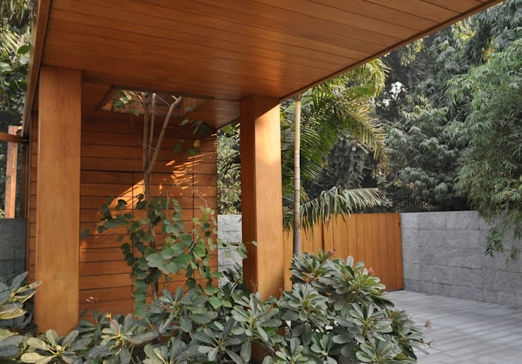 Art House, New Delhi. India :  Terrace by Morphogenesis