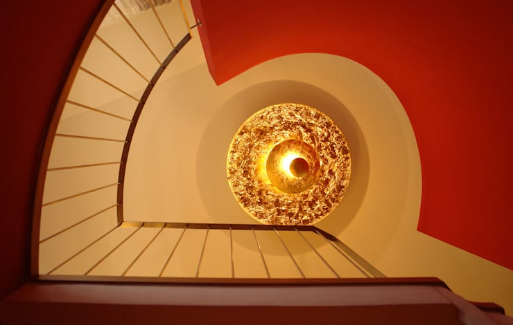 Casa privata MM: Ingresso, Corridoio & Scale in stile in stile Moderno di Studio di Architettura Manuela Zecca
