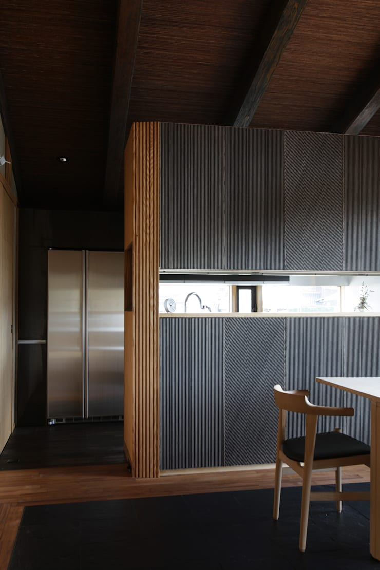 月見草の家: Schri Kakinumaが手掛けたキッチンです。