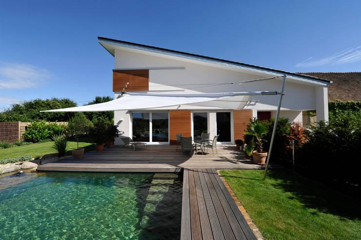 Einfamilienhaus in Osthofen:  Häuser von Julia Schlotter Design