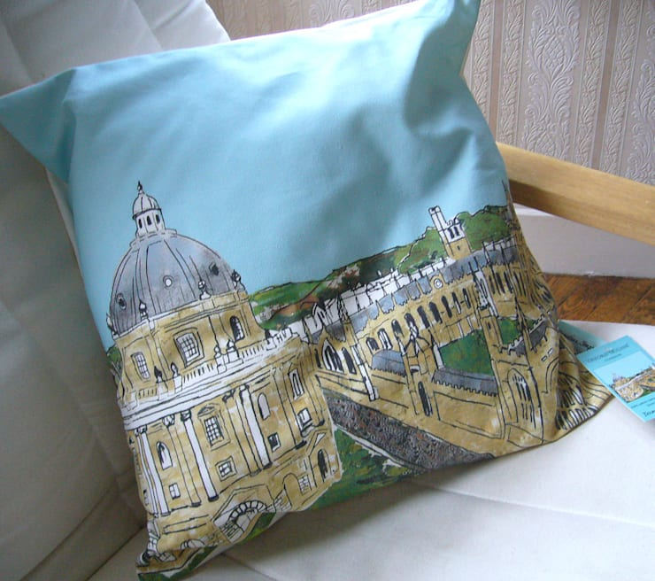 Cushions:  Living room by Emmeline Simpson