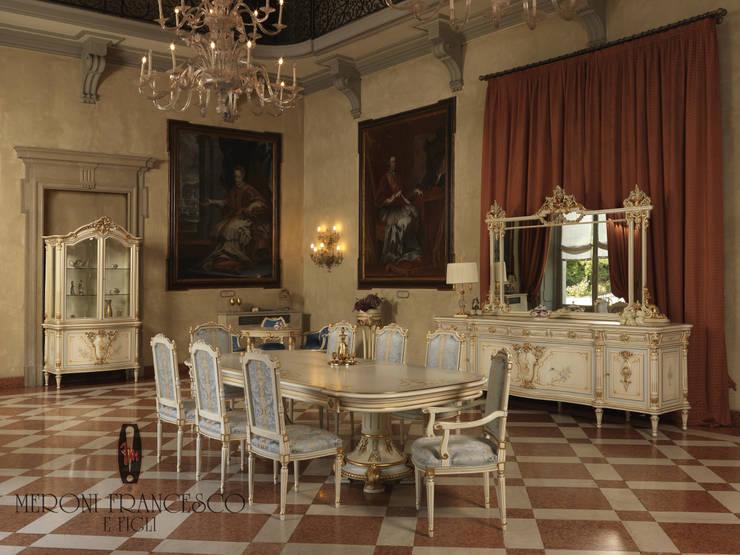 Mod. 0500 Coll. Baby Sky: Sala da pranzo in stile  di Meroni Francesco e Figli ,