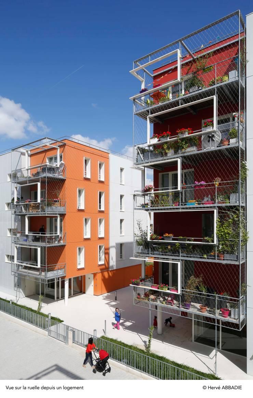 ENTRE DEUX RIVES – Première pierre de l'écoquartier fluvial de L'Île-Saint-Denis:  de style  par philippon kalt